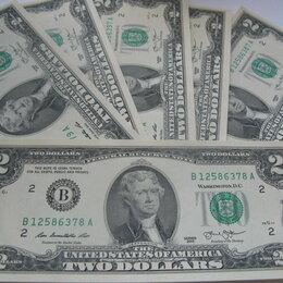 Банкноты - Купюры :  2 Доллара  (Банкноты), 0
