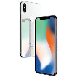 Мобильные телефоны - 🍏 iPhone X 64Gb silver (белый) , 0