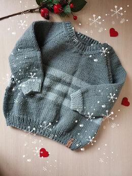 Свитеры и кардиганы - Вязаный детский свитер(ручная работа) , 0