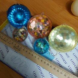 Ёлочные украшения - Елочные игрушки СССР большие и средние шары по, 0