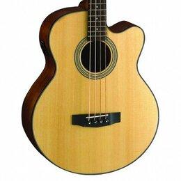 Акустические и классические гитары - Акустические бас-гитары CORT SJB5F-BK Acoustic Bass Series, 0