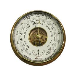 Метеостанции, термометры, барометры - Барометр Утес БТК-СН-8 с открытой белой шкалой, 0