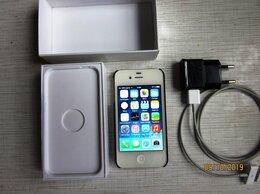 Мобильные телефоны - Apple iPhone 4 (7.1.2), полный комплект,…, 0