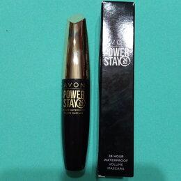 Для глаз - Тушь для ресниц Avon Объём 24 часа BLACKEST BLACK (ультрачёрная) 10мл, 0