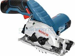 Дисковые пилы - Аккумуляторная циркулярная пила Bosch GKS 12V-26…, 0