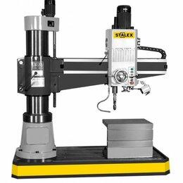 Принадлежности и запчасти для станков - Станок радиально-сверлильный STALEX RD1250x50, 0