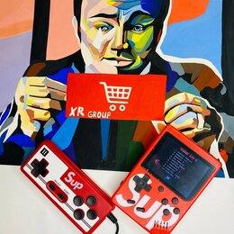 Игровые приставки - Портативная игровая приставка Game Box 400 игр в 1 + геймпадом, 0