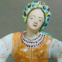 Статуэтки и фигурки - Статуэтка  Танцующая украинка .Руки в боки. , 0