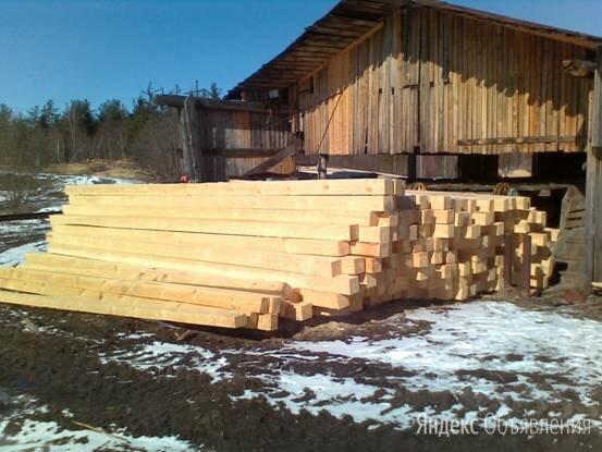 Брус, доска под заказ на строительство домов и бань из Костромы  по цене 21000₽ - Дизайн, изготовление и реставрация товаров, фото 0