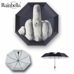 Зонты и трости - Зонт автоматический средний палец, фак, 0