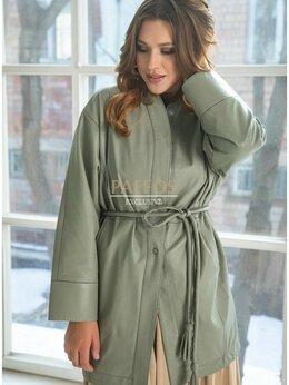 Куртки - Женская светло-зеленая куртка-рубашка, 0
