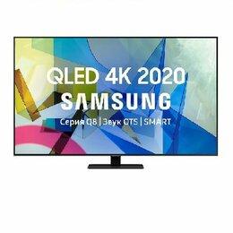 "Телевизоры - QLED телевизор SAMSUNG QE50Q80TAUXRU 50"" Ultra HD 4K, 0"