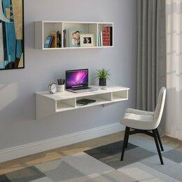 Компьютерные и письменные столы - стол и полка подвесные, 0