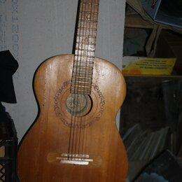 Акустические и классические гитары - гитара старая для интерьера., 0