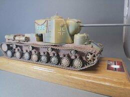 Сборные модели - Модель сверхтяжелого танка КВ-5 , 0