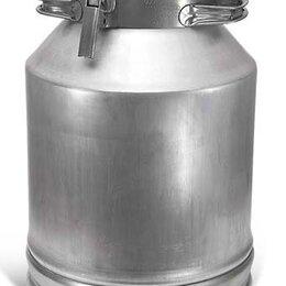 Термосы и термокружки - Фляга для молока алюминиевая 40 литров, 0