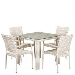 Плетеная мебель - Комплект плетеной мебели из искусственного…, 0