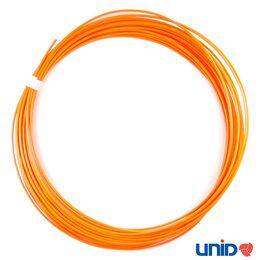 Расходные материалы для 3D печати - ABS пластик, цвет ОРАНЖЕВЫЙ, 1,75 мм., 10 метров, 0