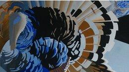 """Картины, постеры, гобелены, панно - Картина темперой на холсте """"Фауна Земли I"""", 0"""