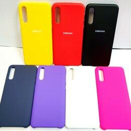 Чехлы - Чехол Silicone Case Samsung A30S/A50., 0