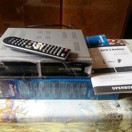 Спутниковое телевидение - Цифровой ресивер Openbox X-730 PVR карточный Новый, 0
