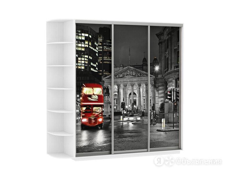Шкаф - купе 3-х дверный Ночной Лондон по цене 41040₽ - Дизайн, изготовление и реставрация товаров, фото 0