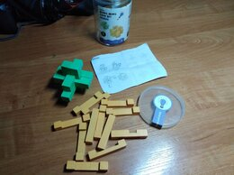 Головоломки - головоломка из дерева, 0