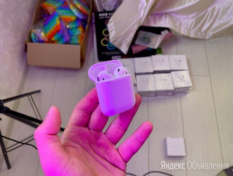 AirPods 2 Лучшее Качество  по цене 1690₽ - Наушники и Bluetooth-гарнитуры, фото 0