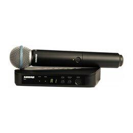 Радиосистемы и радиомикрофоны - SHURE BLX24E/B58 M17 радиосистема UHF, 1 ручной…, 0