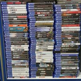 Игры для приставок и ПК - Диски для Playstation 4. 100 штук. Продажа. Обмен, 0