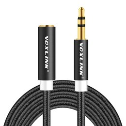 Гарнитуры для проводных телефонов - Кабель Voxlink 3.5 0,5 метра, 0