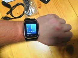 Умные часы и браслеты - Смартфон часы 2 SIM + камера шпиoнckий, 0