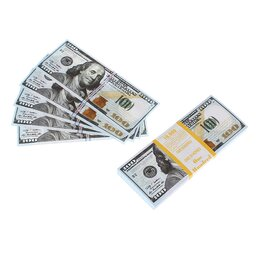 Монеты - Пачка купюр 100 $, микс, сувенир, 0