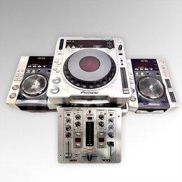 Аудиооборудование для концертных залов - DJ СD-пpоигрывaтель Рionееr DJ СDJ-800 МK2 (2шт), 0