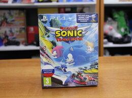 Игровые приставки - Sonic Team Racing + Фигурка 10см - PS4 Новый, 0