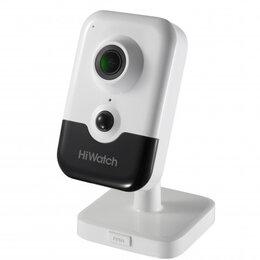 Камеры видеонаблюдения - Видеокамера.Видеонаблюдение HiWatch DS-I214W(B), 0