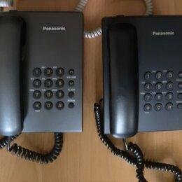 Проводные телефоны - Стационарные телефоны Panasonic KX-TS2350RU (2 штуки), 0