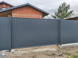 Заборы и ворота - Ворота откатные автоматические, 0