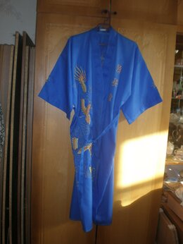Домашняя одежда - Халат - кимоно. Винтаж, 0
