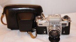 Пленочные фотоаппараты - Фотоаппарат Киев 4М Олимпийский с Юпитер-8М 2/53…, 0