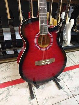 Акустические и классические гитары - Гитара огненная, 0