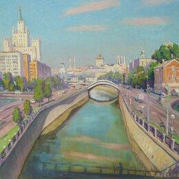 Картины, постеры, гобелены, панно - Раннее утро в Москве. Июнь, 0