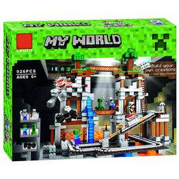 """Конструкторы - Конструктор Lari """"Minecraft"""" Мой мир Шахта 926 детали, 0"""