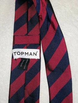 Галстуки и бабочки - 🔥Стильный узкий клубный галстук TopMan, 0