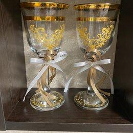 Свадебные украшения - Новые свадебные бокалы , 0
