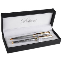 """Канцелярские принадлежности - Набор """"Delucci"""": ручка шариковая, 1мм и…, 0"""