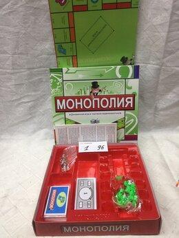 Настольные игры - Новая Монополия экономическая игра в упаковке, 0