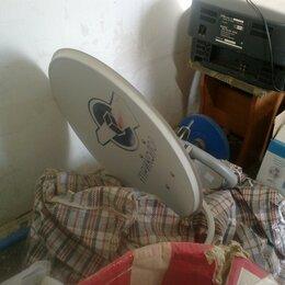 Спутниковое телевидение - Тарелка Триколор, ресивер, пульт, кабель, документы, договор на обслуживание., 0