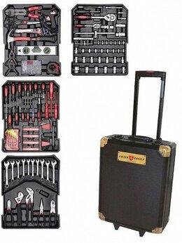 Наборы инструментов и оснастки - Набор ручного инструмента Swiss Tools ST-1075,…, 0