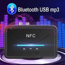 Усилители и ресиверы - Блютуз аудио приемник, USB mp3 плеер, NFC, 0